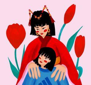 Illustratie van Sioejeng Tsao