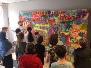 Kinder Gemeenteraad Haarlem in actie